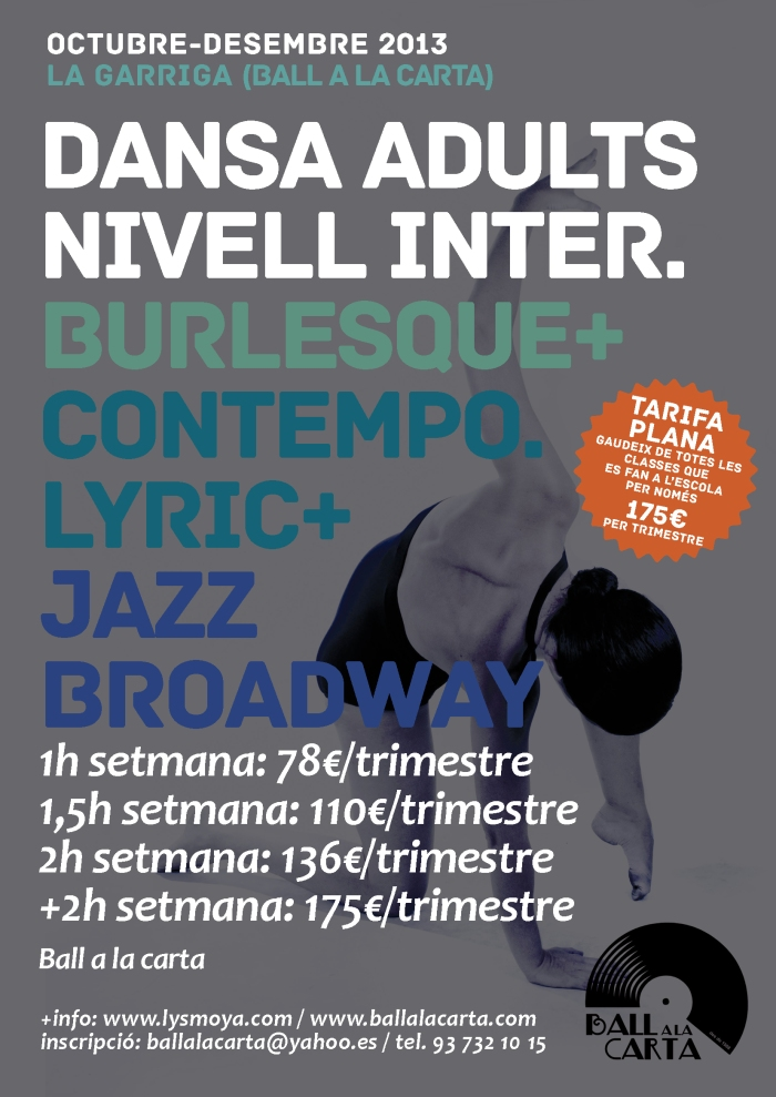 Burlesque, contemporani Lyric, Jazz Broadway