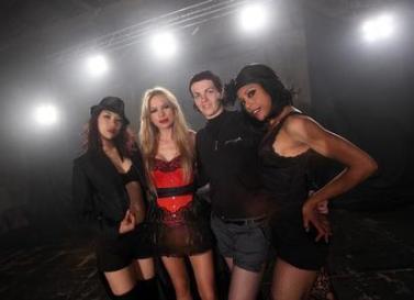"Coreografia para video clip ""Miss Flapper"""