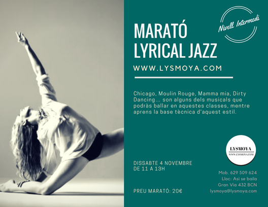 LYRICAL JAZZ BARCELONA