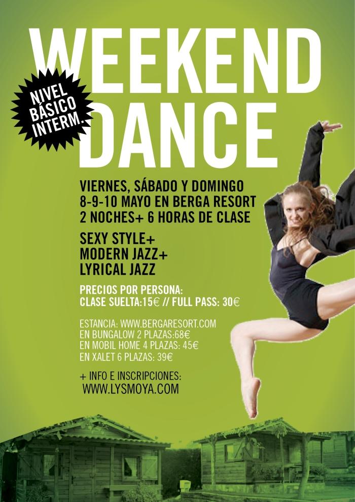 WEEKCEND DANCE BERGA RESORT