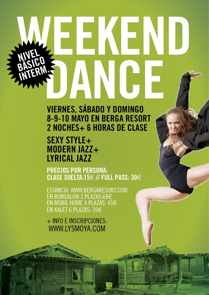 WEEKCEND DANCE BERGA RESORT
