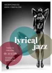 CLASES DE LYRICAL JAZZ BARCELONA