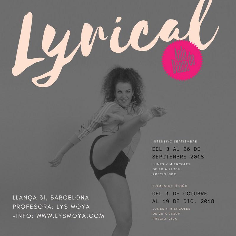 Clases de danza en Barcelona. Lyrical Jazz con Lys Moya