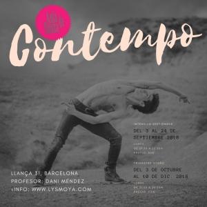Clases de danza en Barcelona. Contemporáneo con Dani Méndez